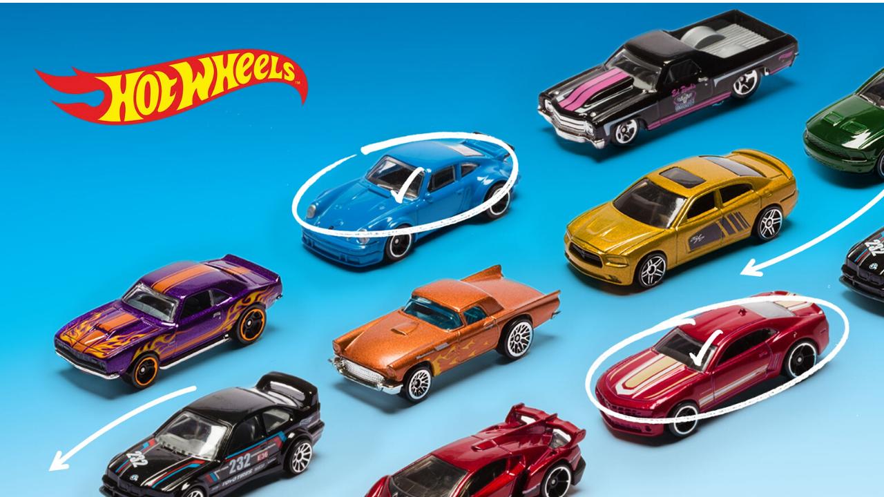¡Los Hot Wheels más difíciles de conseguir!