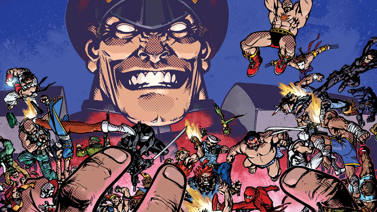 Gi Joe X Street Fighter: Una colección de figuras de culto.