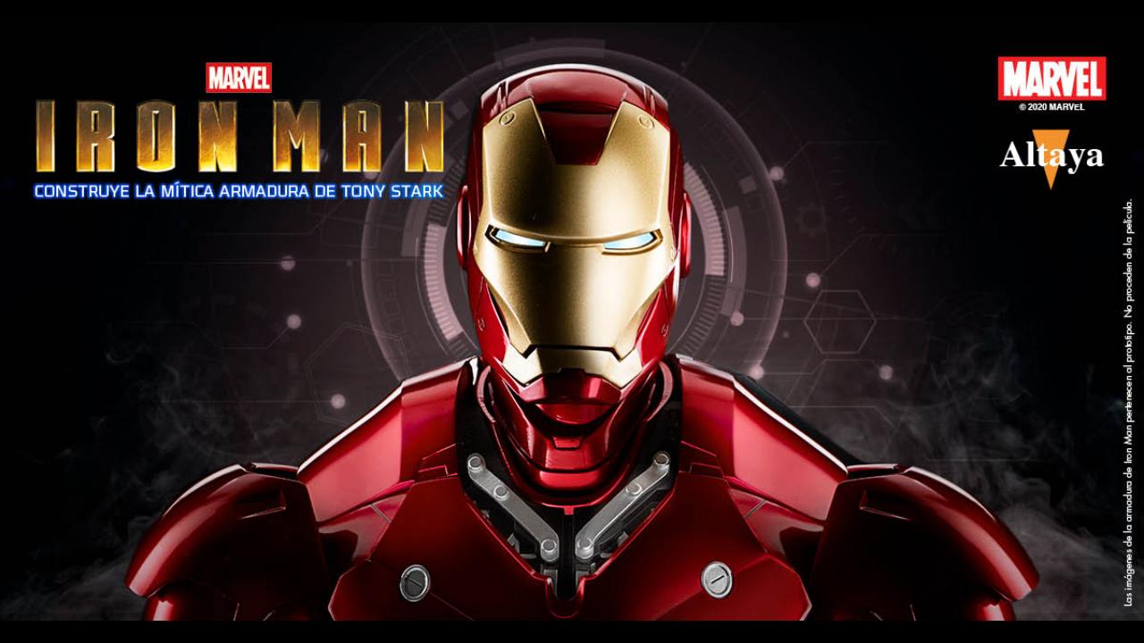 Figura de alta gama de Iron Man (no es de Iron Studios, ni de Hot Toys).