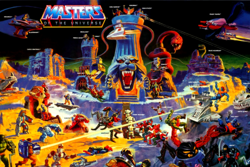 Eternia playset: El juguete más grande de He-man.