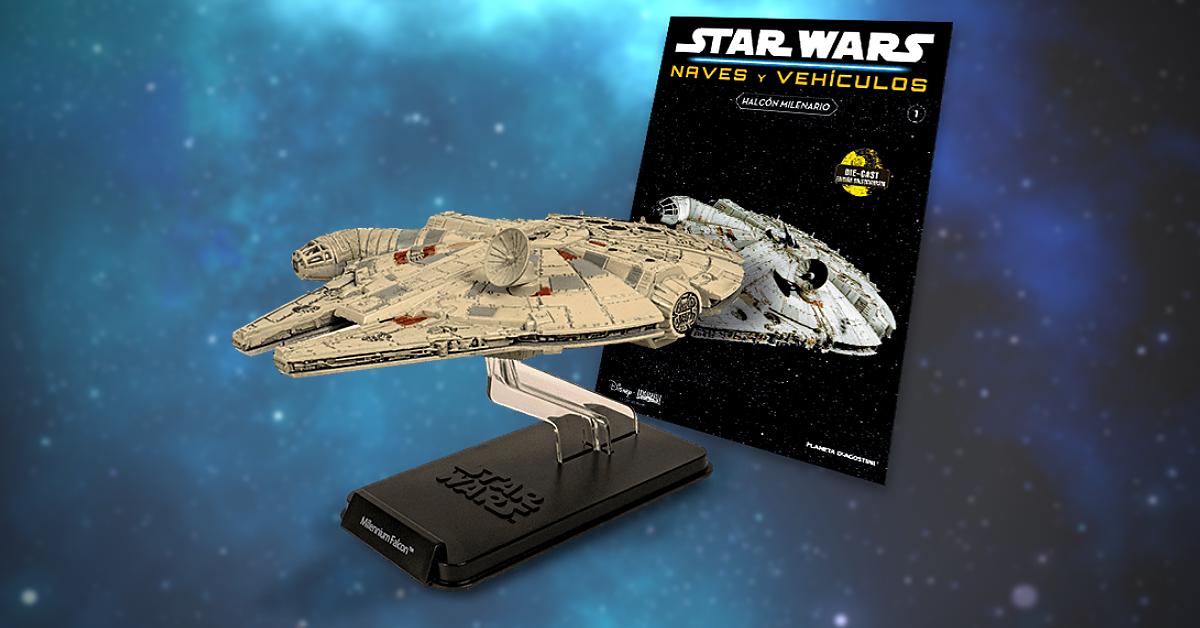 Planeta DeAgostini lanza la colección exclusiva STAR WARS: NAVES Y VEHÍCULOS
